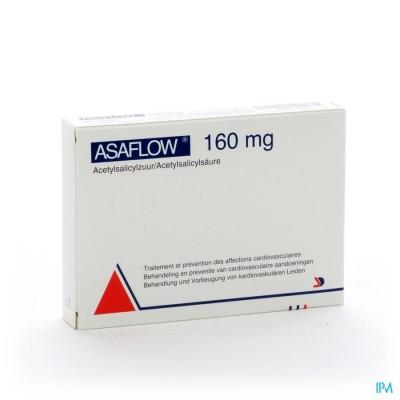 Asaflow 160mg Maagsapres Comp Bli 56x160mg