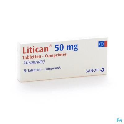 Litican 50mg Comp 20 X 50mg