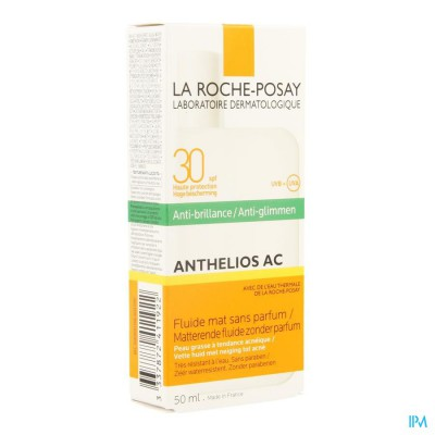 La Roche Posay Anthelios Fluide Ac Ip30 50ml