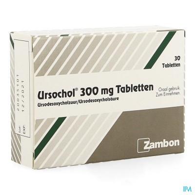Ursochol 300 Comp 30 X 300mg