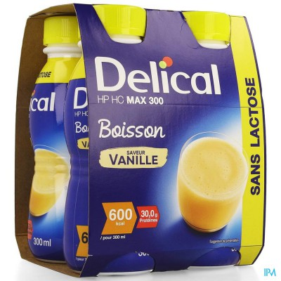 Delical Max 300 Vanille 4x300ml