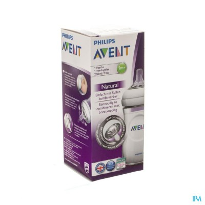 Avent Zuigfles Natural 260ml