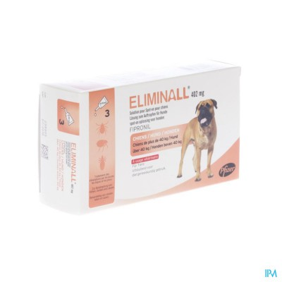 Eliminall 402mg Spot On Opl Hond Pipet 3