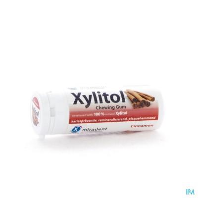 Miradent Kauwgom Xylitol Kaneel Zs 30