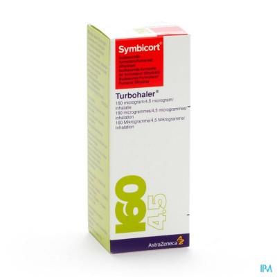 Symbicort Turbohaler 160mcg/4,5mcg Doses 1x120