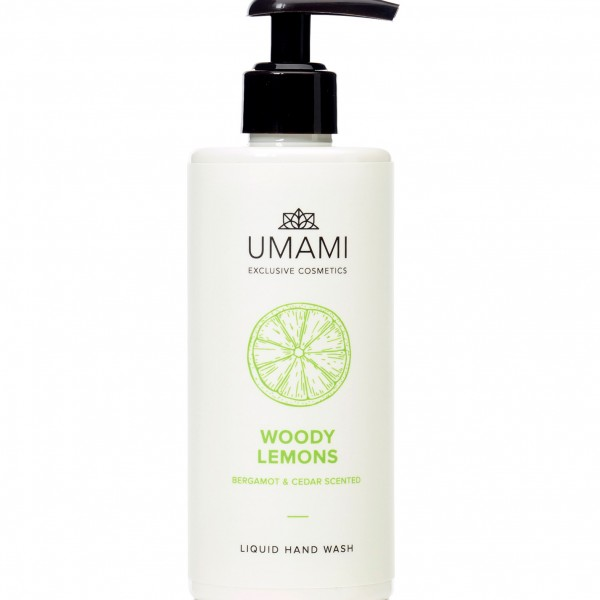 Umami Woody Lemons Bergamot&ceder Hand Wash 300ml