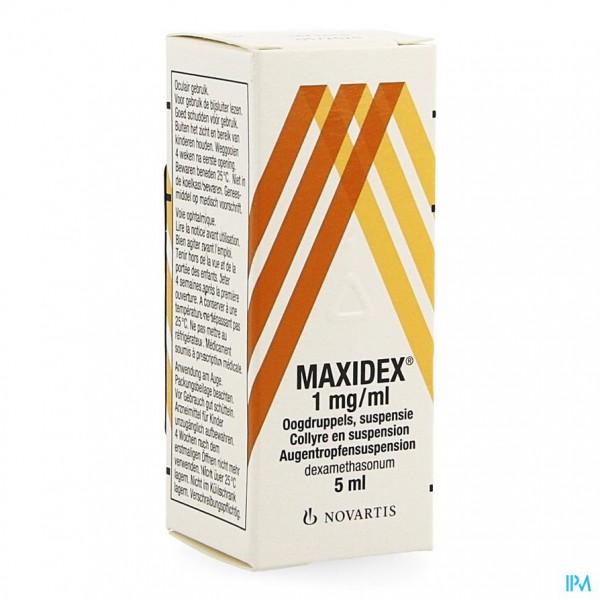 Maxidex Collyre 5ml 0,1%