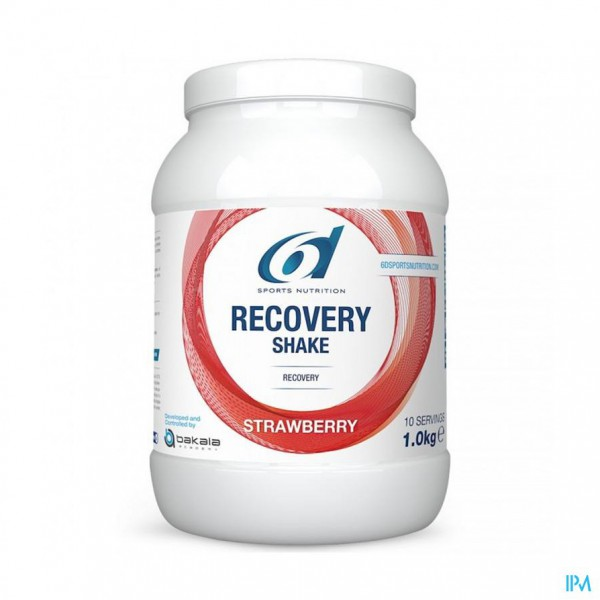 6d Sixd Recovery Shake Strawberry 1kg