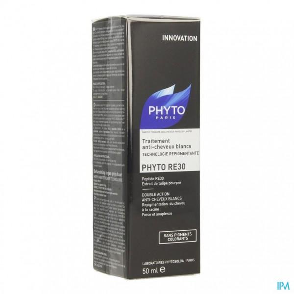 Phyto Re30 Behandeling A/wit Haar Fl 50ml