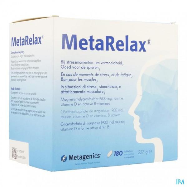 Metarelax Nf Tabl 180 22431 Metagenics