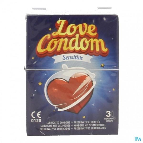 Love Condom Sensitive Preservatif/ Condoom 3