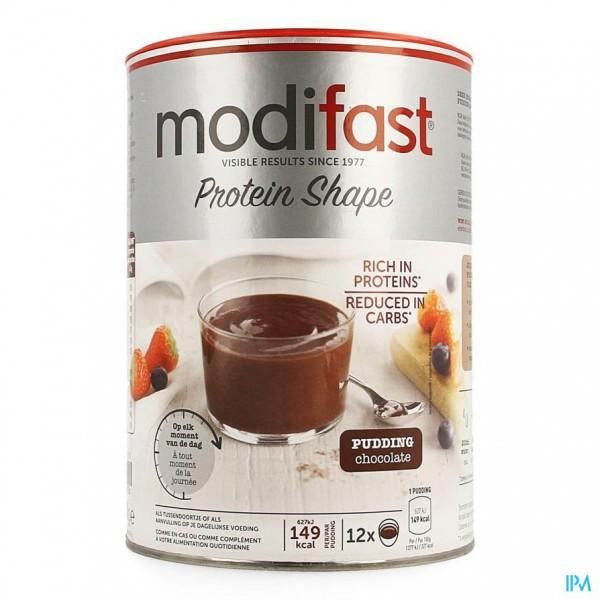 Modifast Protiplus Pudding Chocolade 540g