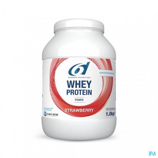 6d Sixd Whey Protein Strawberry 1kg