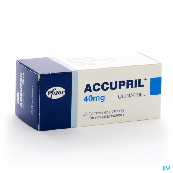 Accupril Comp 56 X 40mg