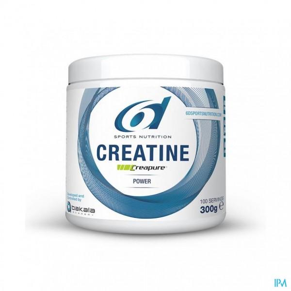 6d Sixd Creatine Creapure Pdr 300g