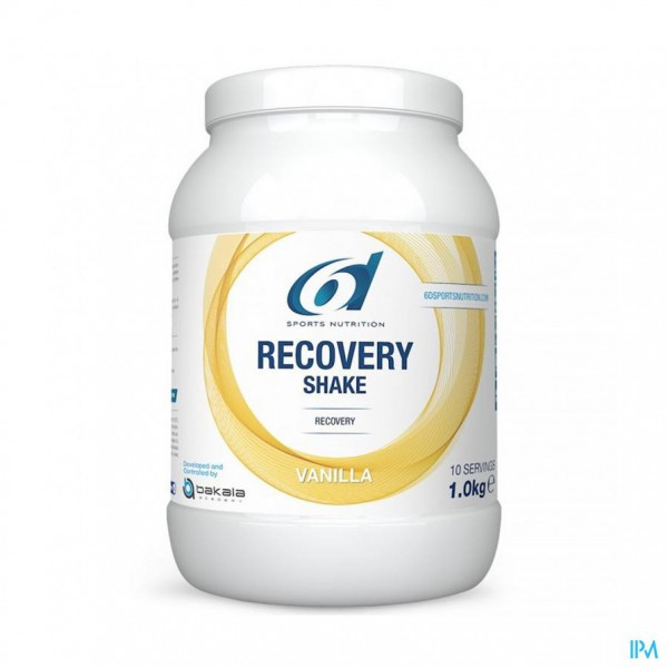 6d Sixd Recovery Shake Vanilla 1kg